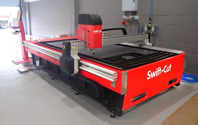 CNC Plasma Cutter at AR Controls